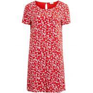 jurk met bloemenprint