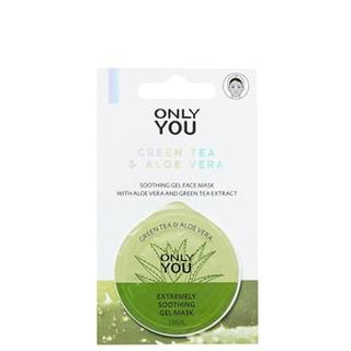 Masks Masks Verzachtend Gelmasker - Green Tea & Aloe Vera