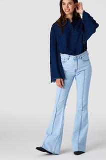 Tiana Dames Jeans Blauw - High Rise&Flared - 31/30