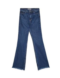 Flared jeans Middenjeans