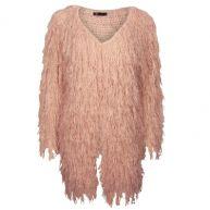 Vest Furry Zalm