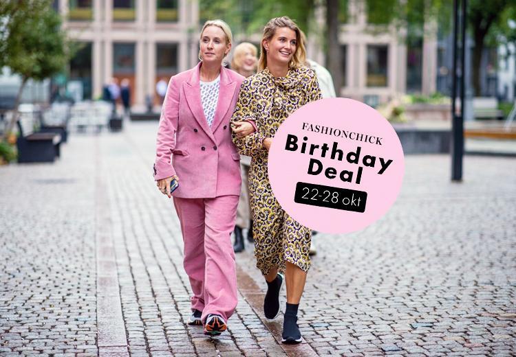 Fashionchick Birthday Deal: shoppen met 20% korting