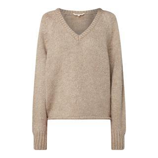 Pullover met wolgehalte