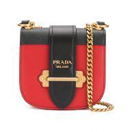 Prada Cahier cross-body bag - Red