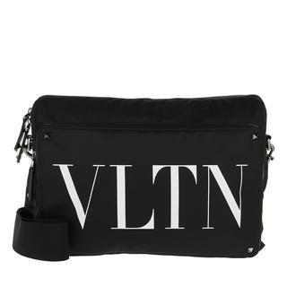 Tasche - Crossbody Bag Black/White in zwart voor dames