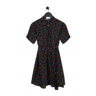 FABIENNE CHAPOT BOYFRIEND DRESS BLACK MULTI STARS