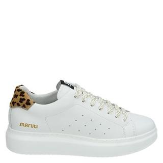 Claire lage sneakers wit