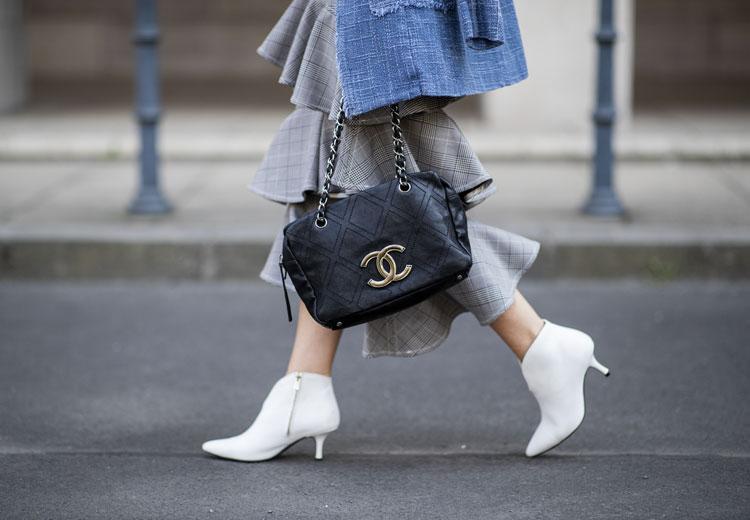 Trend alert: witte laarzen voor het najaar