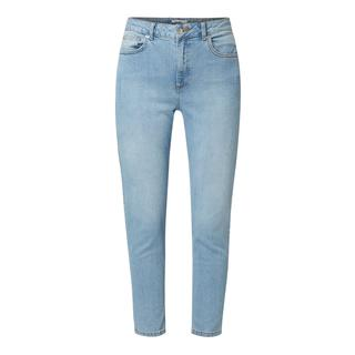 Mom fit jeans in used-look