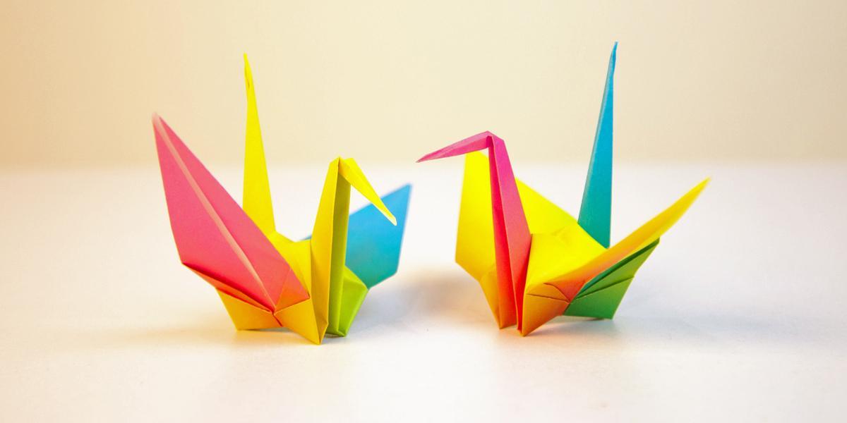 kraanvogel vouwen