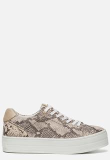 Sneakers slangenprint