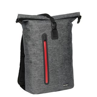 Waterproof Rolltop Rugzak met Laptopsleeve 17'' Vassos Antraciet