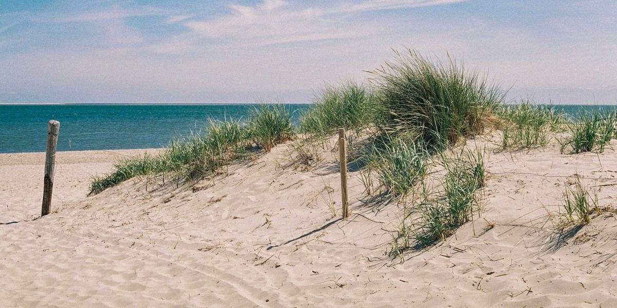 rustige stranden Nederland