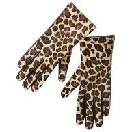 Scotch & Soda Handschoenen met luipaardprint