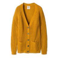 Clockhouse Vest De heerlijk zachte cardigan van  is perfect voor de lagenlook geel
