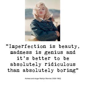 Quote Marilyn Monroe