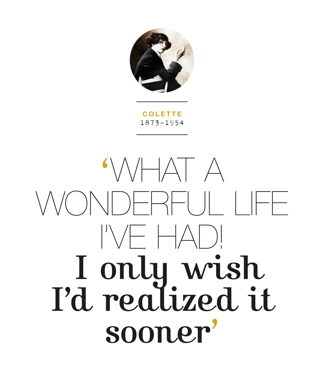 Quote Wonderful life