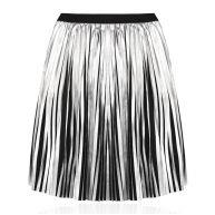 Plissé Skirt - Silver