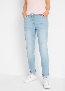 Dames boyfriend jeans in blauw