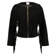 Fringe Jacket - Black