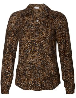 Blouse Aop Animal 93625-20 Blouse met panterprint 93625-20