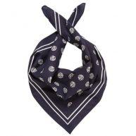 TOM TAILOR DENIM Sjaal Vierkante sjaal met stippen