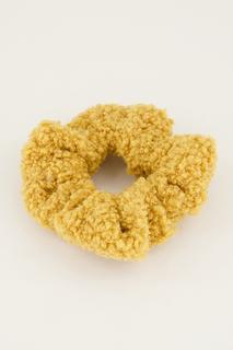 Gele scrunchie teddy