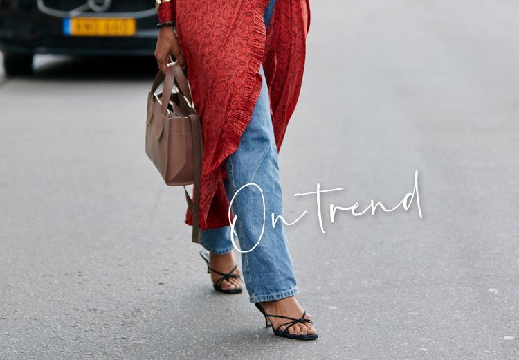 Deze sandalen zijn perfect voor de on trend vrouw