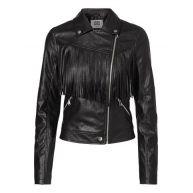 Vero Moda Short Fringe PU Jacket