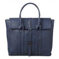 Friis & Company Handtassen Grain Molly Shopper Blauw