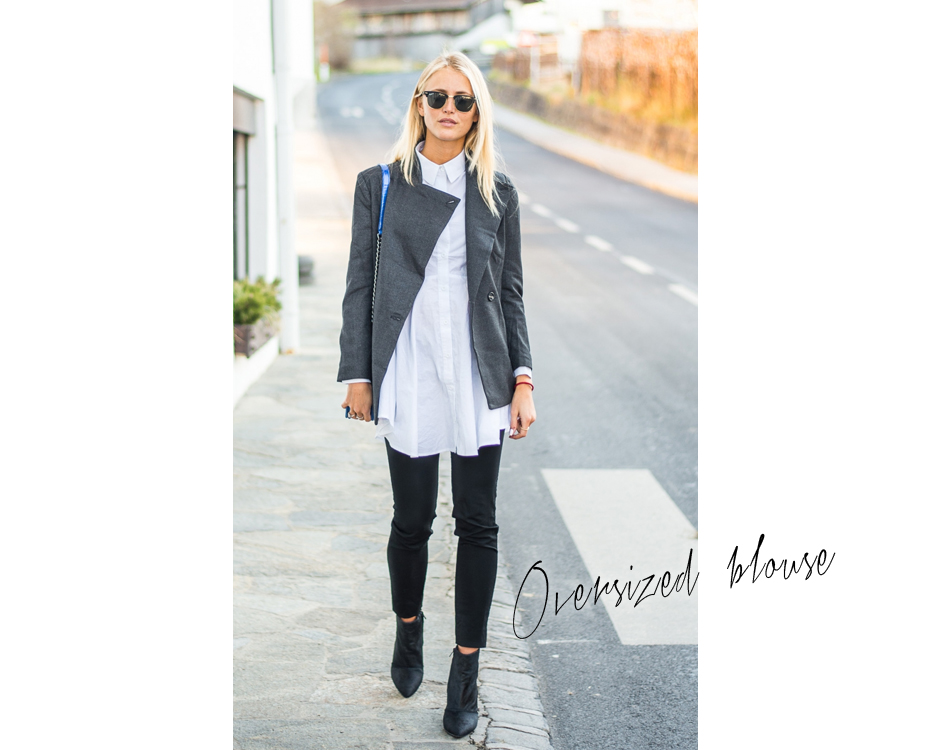 Look oversized blouse
