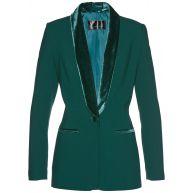 Dames blazer lange mouw in groen - bpc selection