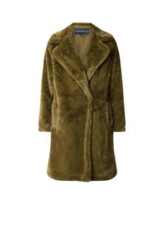 Buona longline mantel van imitatiebont