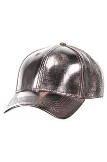 Dames Cap Whcracked Metalic