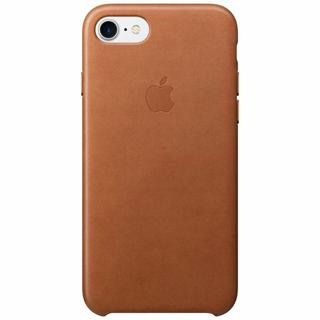Leather Backcover voor iPhone 8 / 7 - Bruin