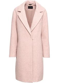Dames korte coat lange mouw in roze