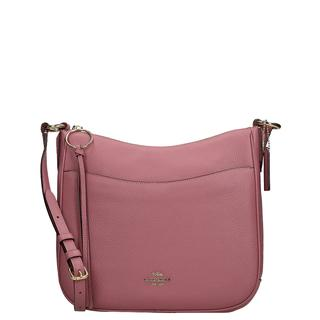 Chaise crossbody tas rose
