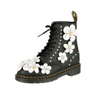Veterlaarsjes Pascal 8 Eye Boot Dr. Martens zwart/wit