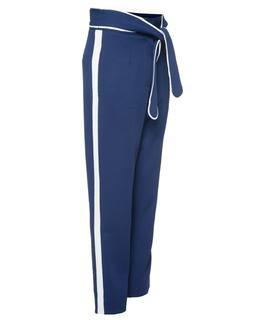 Pantalon Strikceintuur Met Bies