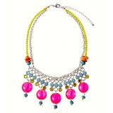 My Jewellery Statement Neon Bead Necklace - exclusive!