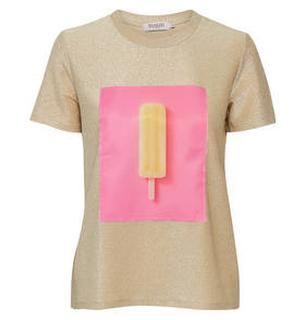 Bijou glitter T-shirt