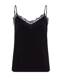 Lingerie Lace Top Black