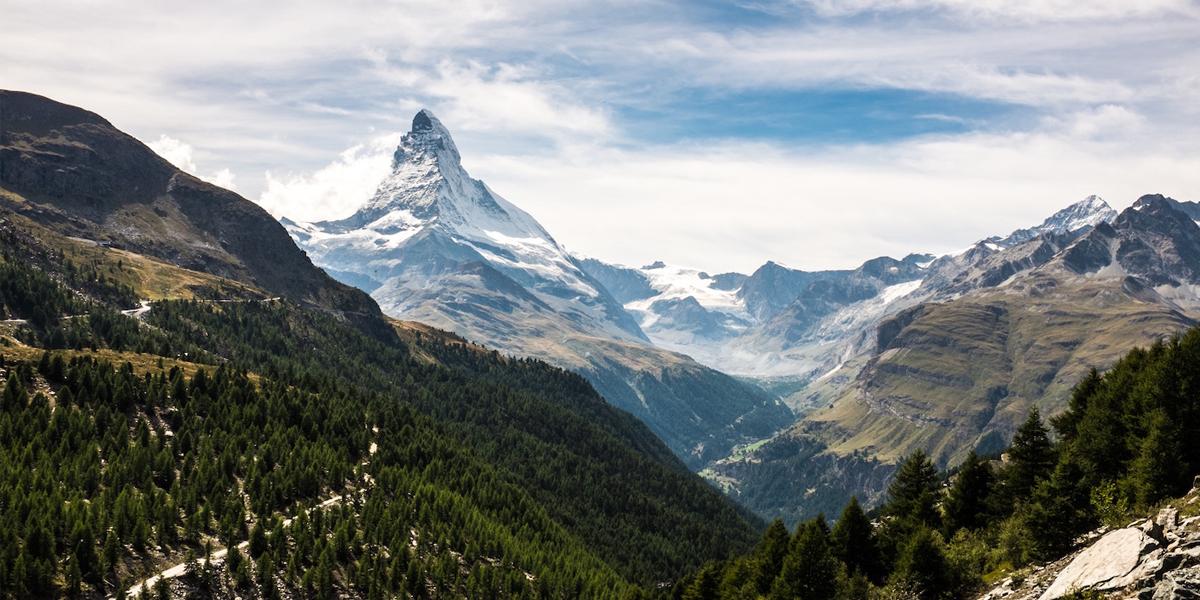 wandelingen in Zwitserland