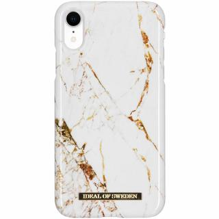 Fashion Backcover voor iPhone Xr - Carrara Gold
