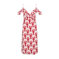 Fabienne Chapot Jurk Rose Marilyn Dress