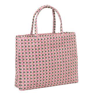 Shopper. Riet. Roze.