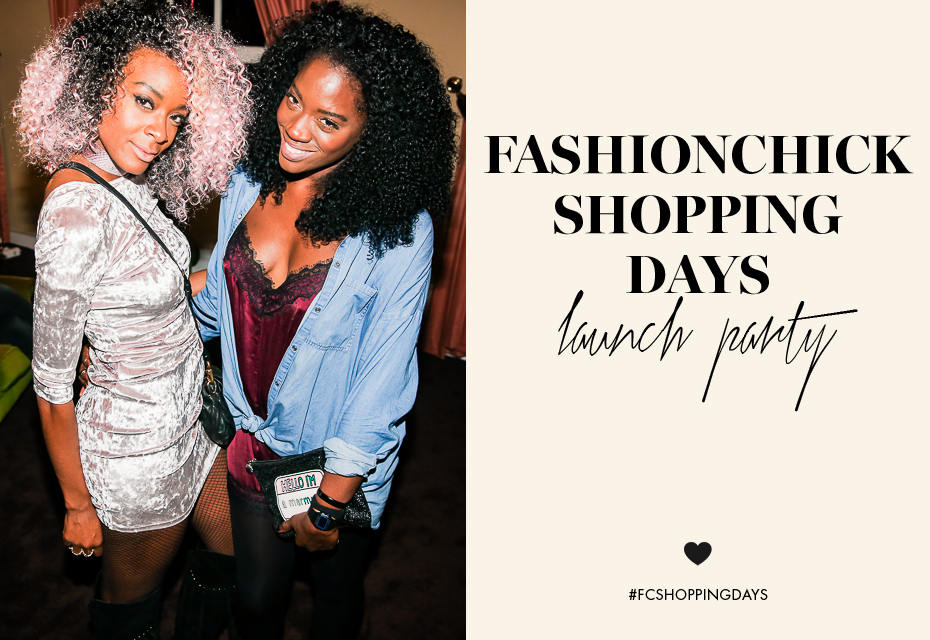 Fashionchick Shopping Days 2016
