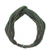 Haarband van becksondergaard, groen