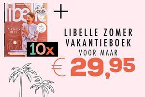 10x Libelle + Libelle Zomer Vakantieboek