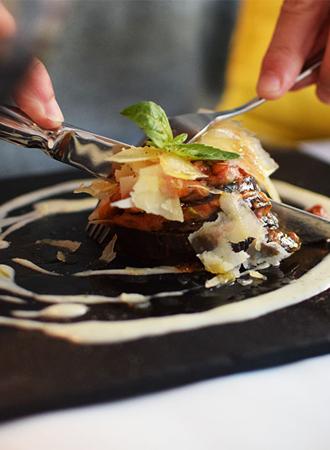 Vieruurtje: skinny courgette lasagne